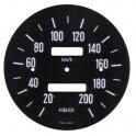 R 8 Gordini : fond de compteur 200 km/h