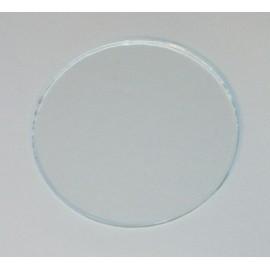 Verre diamètre 124.7mm, épaisseur 2mm